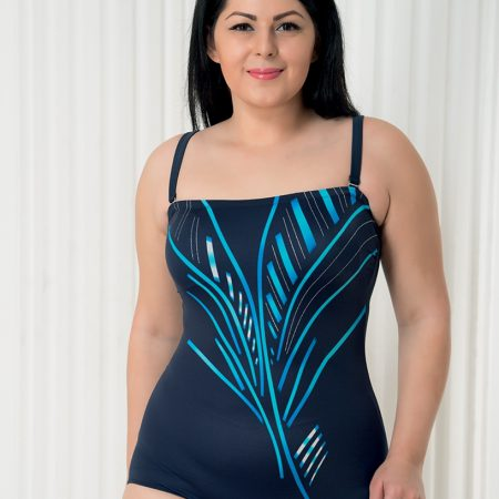 Aqua Perla-Saint Tropez-Blue-One Piece Swimwear-+ Size-0