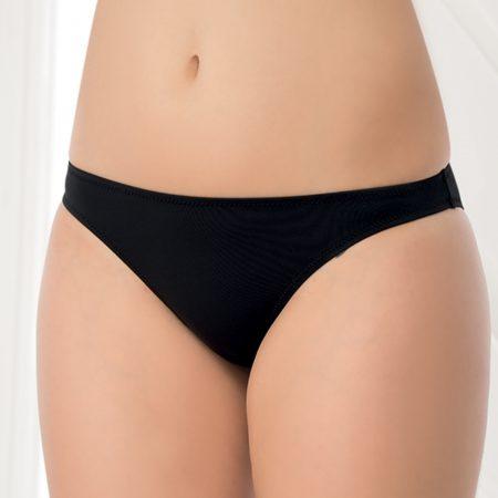 Aqua Perla-Womens-Bondi Beach-Black-Bikini Bottom-0
