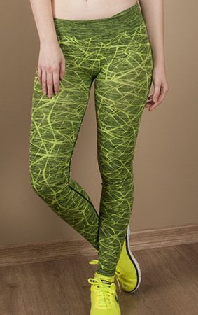 Jerf- Womens-Ayon-Neon Green-Seamless Active Leggings-0