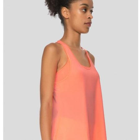 Jerf- Womens-Glifa-Neon Coral-Active Top-0