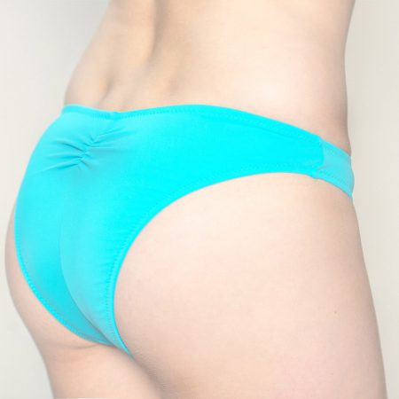 Aqua Perla- Womens-Pinamar- Blue- Brazilian Bikini Bottom-0