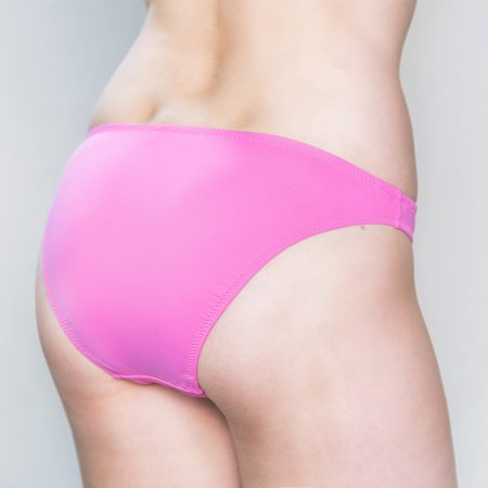 Aqua Perla- Womens-Bondi Beach-Pink- Bikini Bottom-0