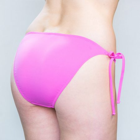 Aqua Perla- Womens-Long Beach-Pink- Bikini Bottom-0