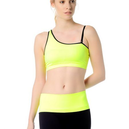 Jerf- Womens-Bage-Neon Yellow-Sports Bra-0