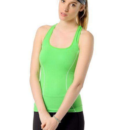Jerf- Womens-Caen-Mint-Seamless Tank-0
