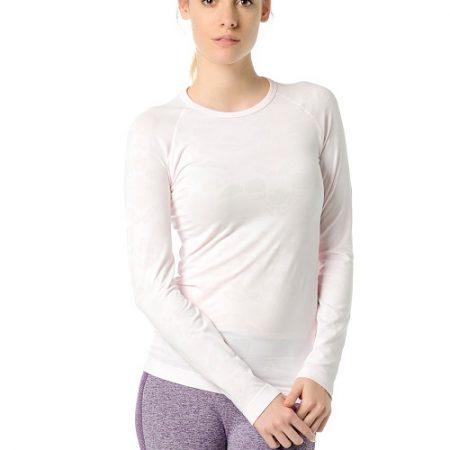 Jerf- Womens-Bukan-Pink-Seamless Performance Shirt-0