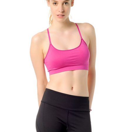 Jerf- Womens-Sunbury-Pink Sapphire-Sports Bra-0