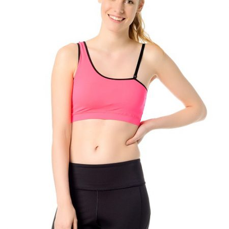 Jerf- Womens-Bage-Neon Pink-Sports Bra-0