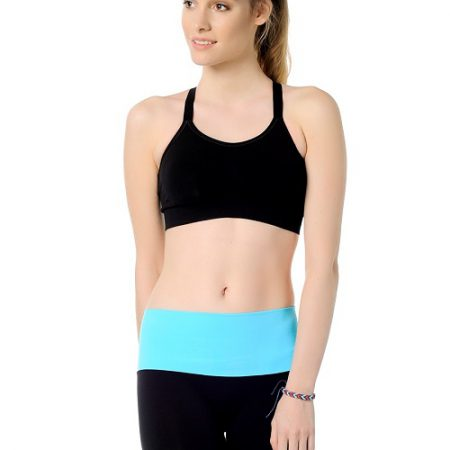 Jerf- Womens-Of-Black- Seamless Sports Bra-0