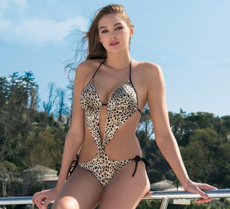 Aqua Perla-Womens-Wild Life-Leopard One Piece Swimwear-0
