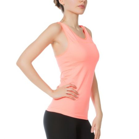 Jerf - Womens-Albany-Coral-Active Tank with Bra-0