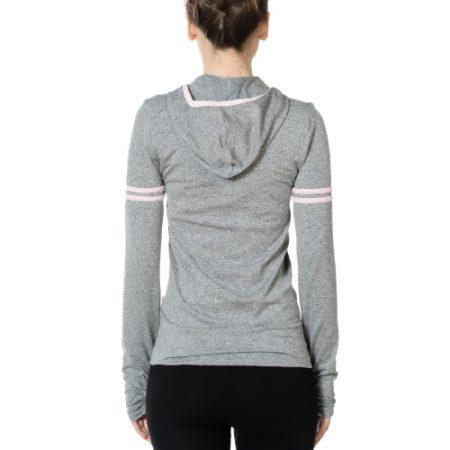 Jerf - Womens-Borden- Grey Melange- Hoodie-0