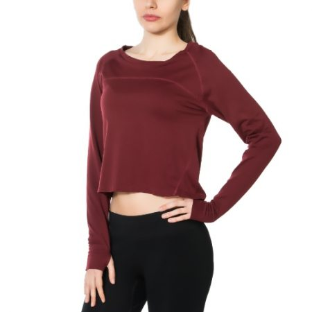 Jerf - Womens-Hellnar - Red- Crop Top Shirt-0
