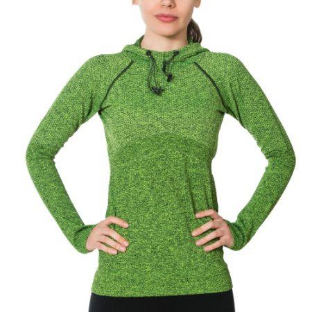 Jerf - Womens-Linga- Green- Hoodie-0