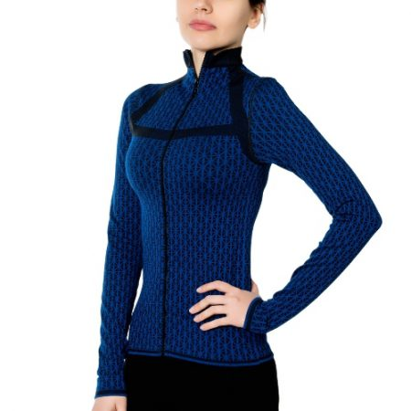 Jerf - Womens-Pag- Blue Black -Active Jacket-0
