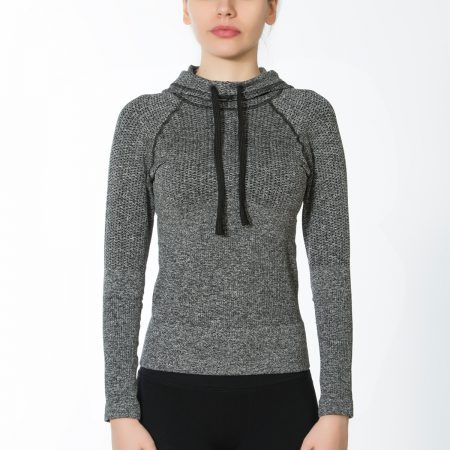 Jerf - Womens-Salwa- Grey- Hoodie-0