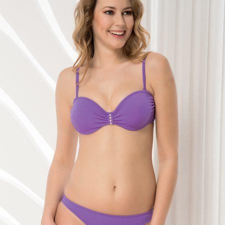 Aqua Perla-Womens-Fiji-Purple-Bikini Bottom-0