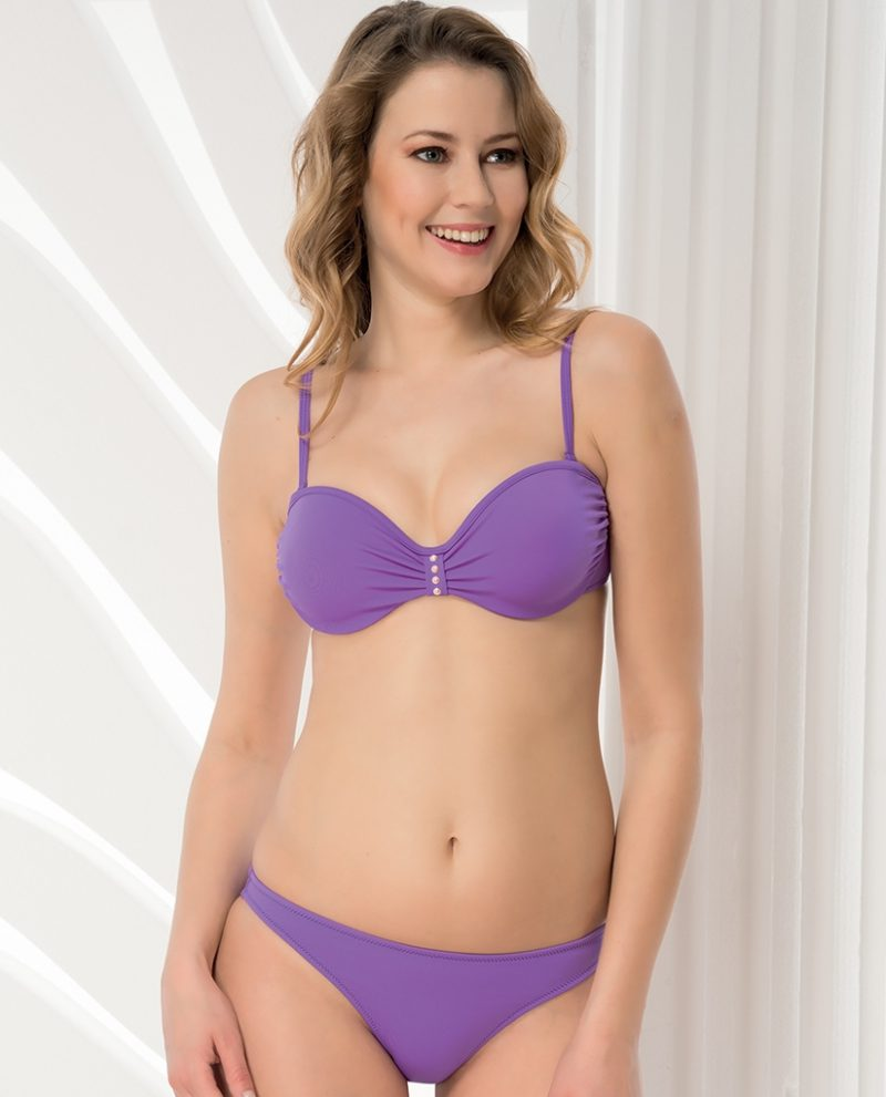 Aqua Perla-Womens-Fiji-Purple-Bikini Top-0