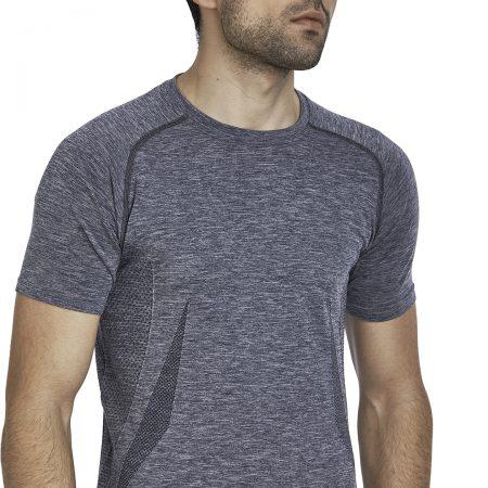 Jerf - Mens-Condor- Grey Melange - Tee Shirt-0