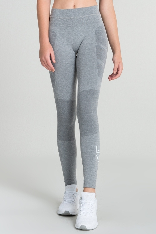 Jerf - Womens-Dover-Grey - Seamless Active Leggings-0