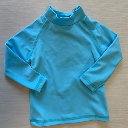 Aqua Perla - Baby boy or girl- Kris- Blue - Spf50+ - Rash Vest-0