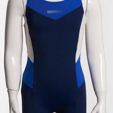 Aqua Perla - Girl- Racer - Blue- Spf50+ - Racing Suit-0