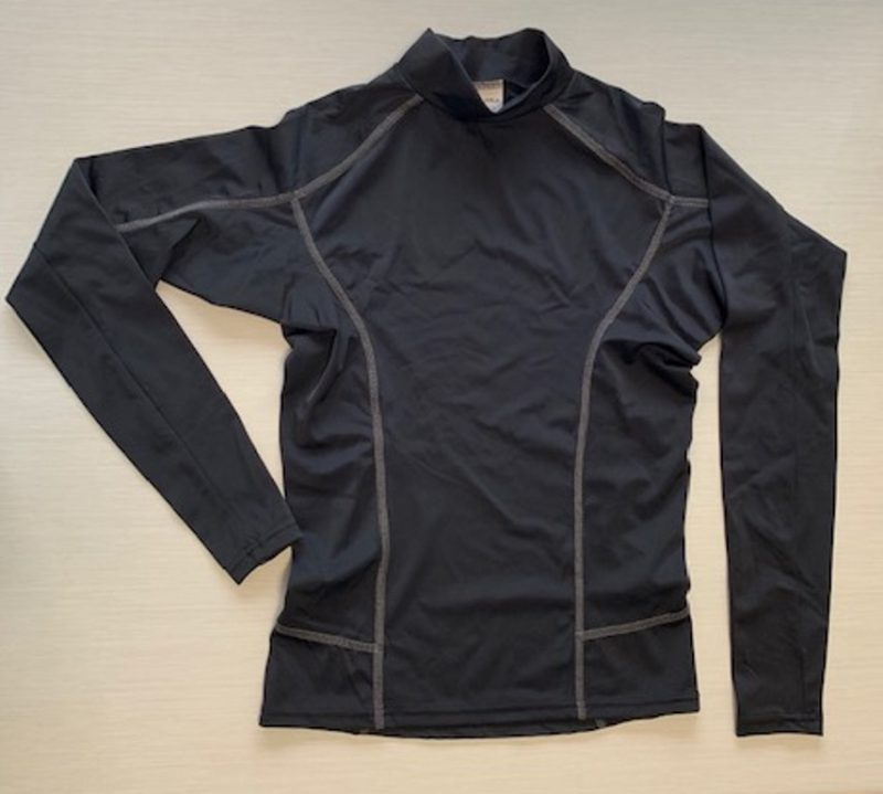 Aqua Perla - Womens - Sunsurf - Rash Vest - Black- Spf50+ - -5011