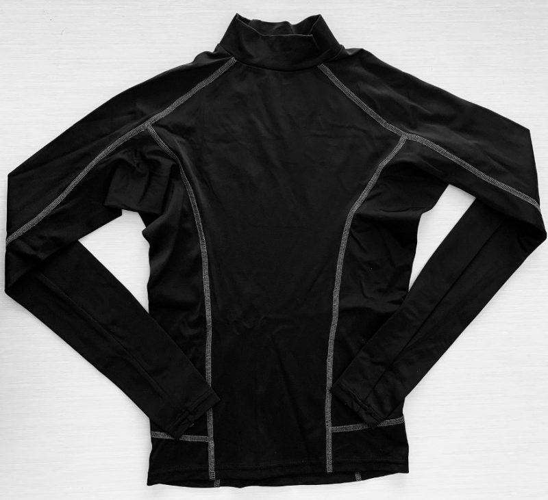 Aqua Perla - Womens - Sunsurf - Rash Vest - Black- Spf50+ - -0