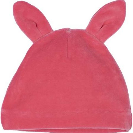 Idilbaby- Baby - Girl- Liliana- Pink- Velvet Hat with Ears-0