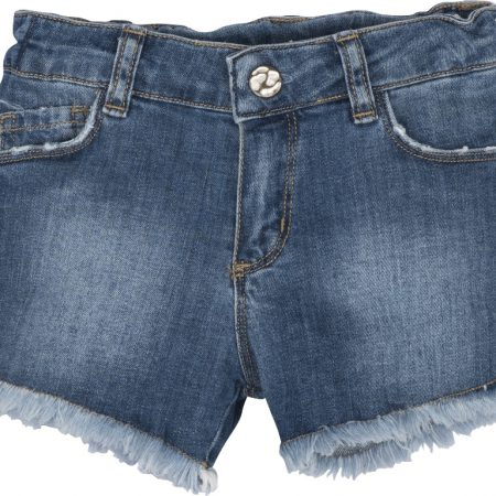 Mamino- Girl- Katie - Denim - Blue - Short -0